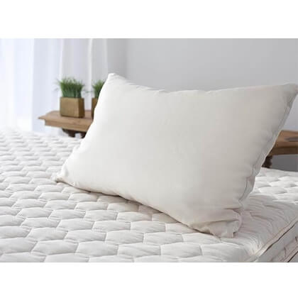 Organic Shredded Latex Pillow Standard Full Queen Or King