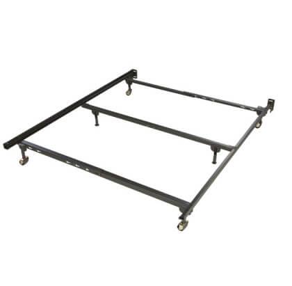 34rr heavy duty steel bed frame fits twin full or queen - Heavy Duty Bed Frame Queen