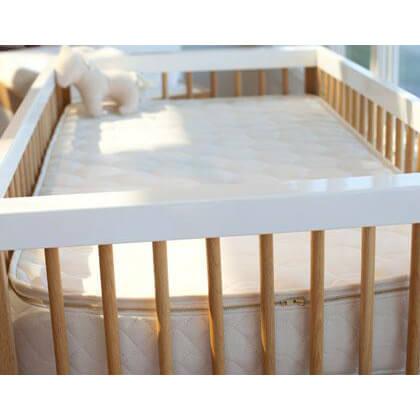 The Savvy Baby Natural Latex Crib Mattress (27.5″ X 52″)