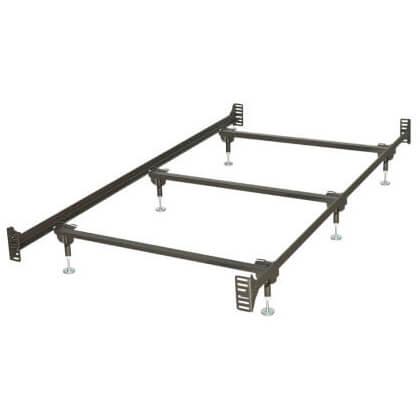 BBT13WB Headboard/foot Board Bolt Up Steel Super Duty/waterbed Frame (twin)