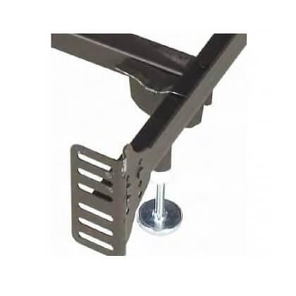 Headboard/foot Board Bolt Up Steel Super Duty/waterbed Frame (king)