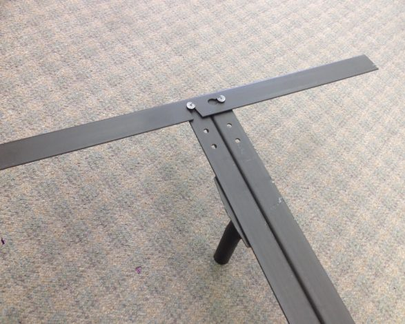 66rr Heavy Duty Steel Bed Frame (california King)