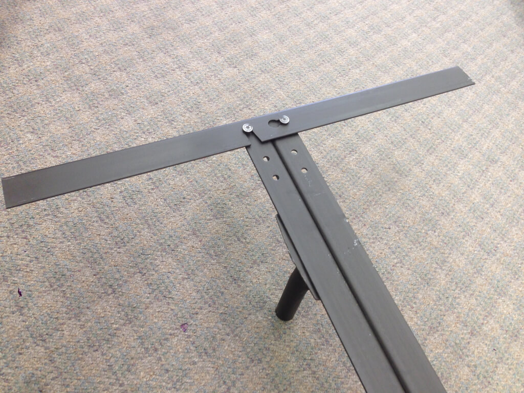 66rr Heavy Duty Steel Bed Frame With Rollers California King