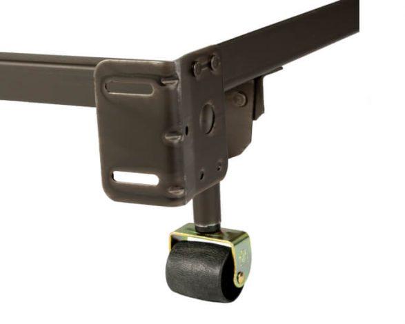 34rr Heavy Duty Steel Bed Frame (fits Twin, Full Or Queen)