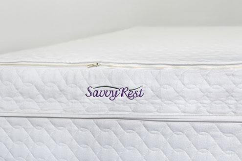 Tranquility All Dunlop Latex Mattress By Savvy Rest Full