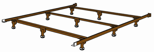 how to build a california king waterbed frame
