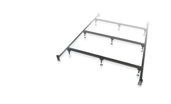 Twin Extra Long Bed Frame That Attaches To Frame