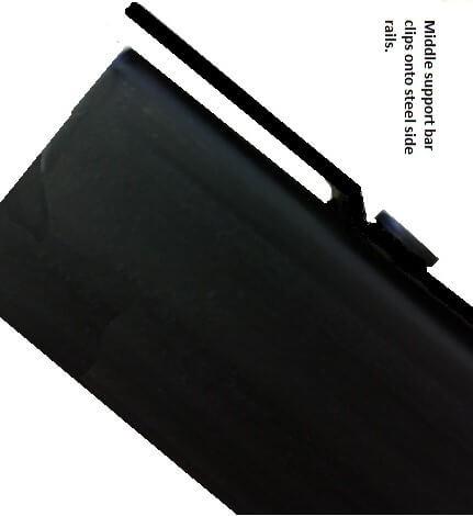 K 80 8-18 Hook In Headboard & Footboard Steel Bed Frame (king)