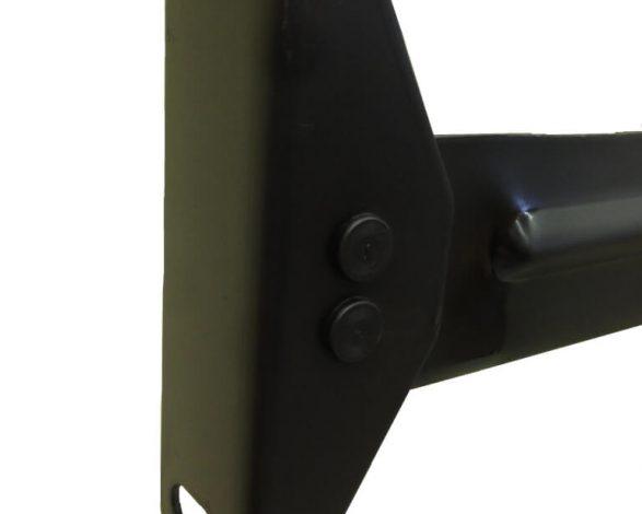 64cs-8-18 Tall Bolt Rails With Center Support