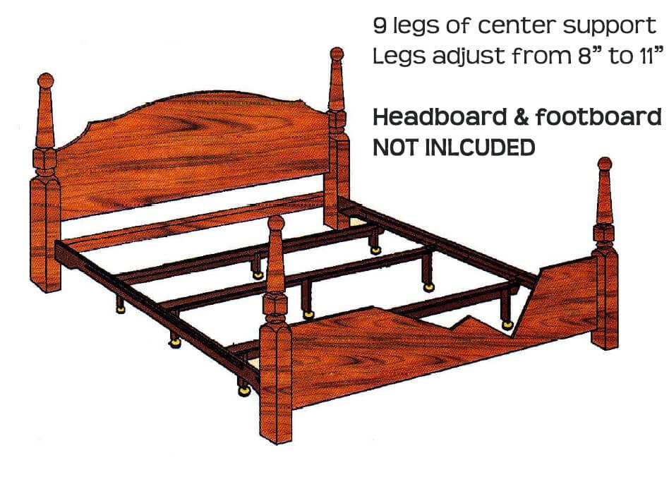 King size bed frame hook on bed frame king original king size victorian brass bed nova solid - King size bed frame parts ...