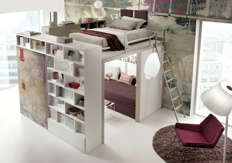 9 Great Ideas For Decorating A Tiny Bedroom