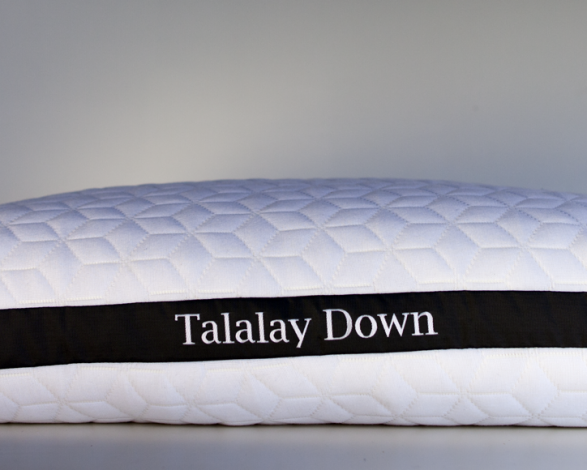 Talalay Down Latex Pillow High/low Profile