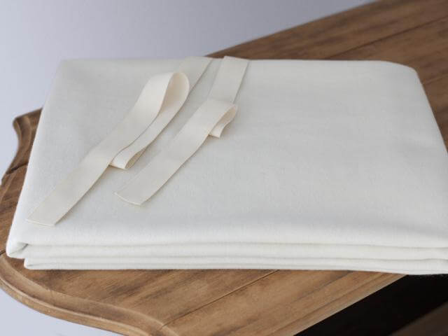 Certified Organic Wool Mattress Pad