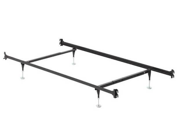 Twin Full Hook On Frame W Headboard, Queen Hook On Metal Bed Frame Rails