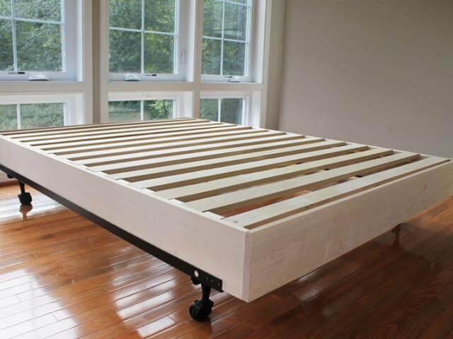 Platform Bed Foundation California King   STLBeds