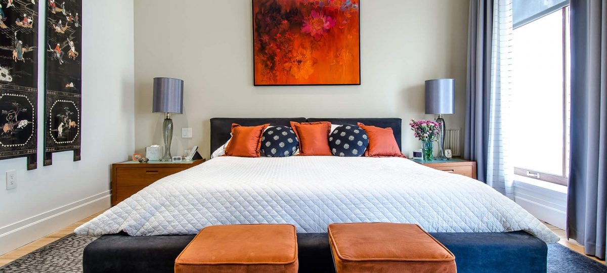How To Turn Your Bedroom Into An Oasis Of Calm