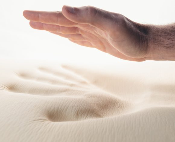 Memory Foam Bed.