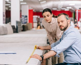 Two-Sided Mattress Pros And Cons. Measuring The Mattress.