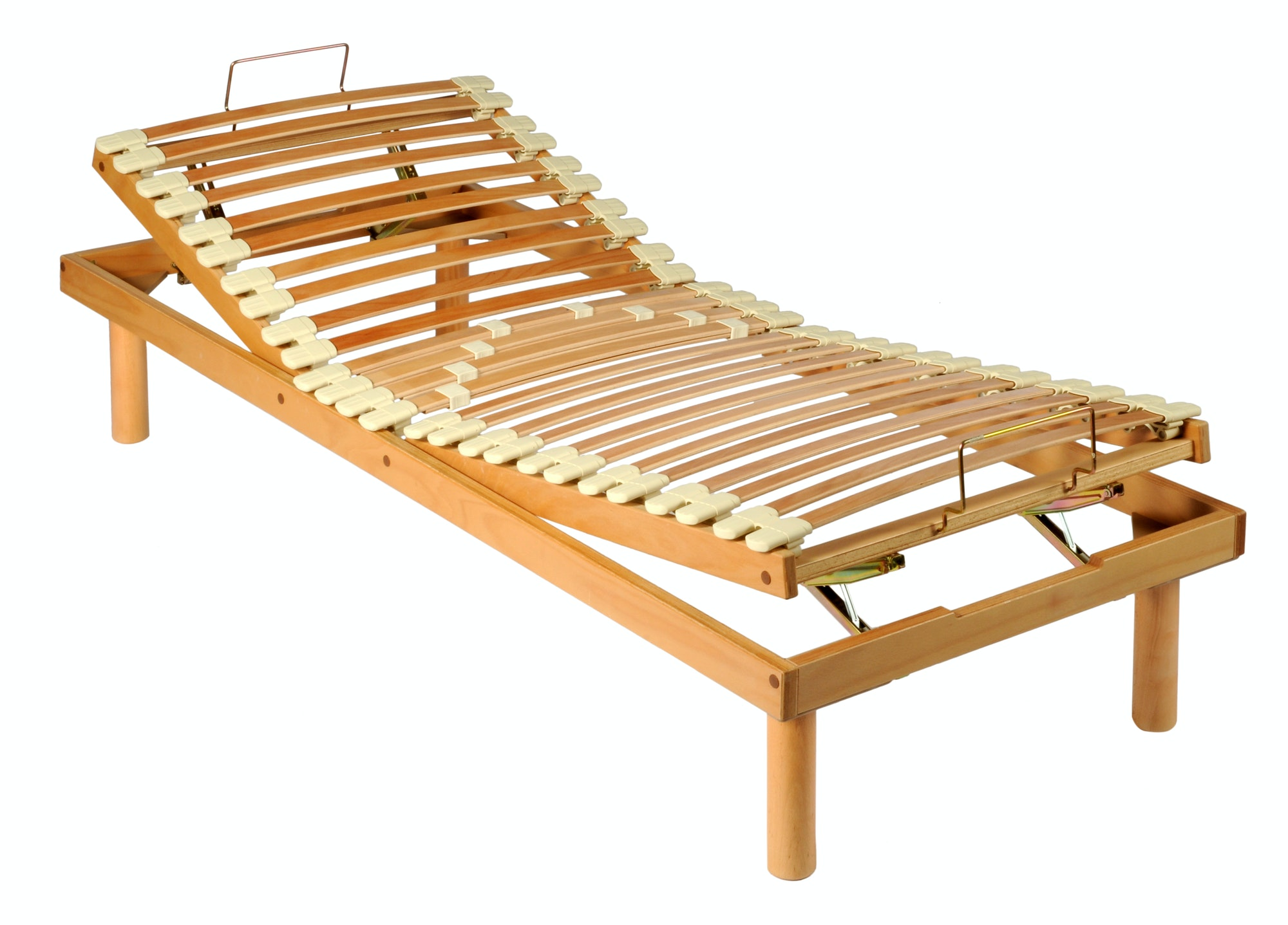 Problems With Adjustable Power Bed Bases. Wooden adjustable bed frame.